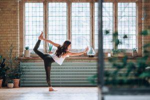 Yoga teacher Sarah Drai