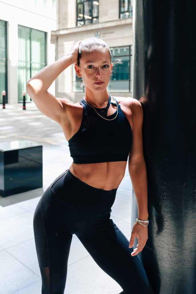 Fitness instructor India Bailey